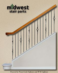 Check Out This Staircase Layout I Created At Carolina Stair Supply, Inc.