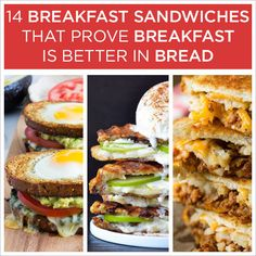 You snooze, you truly lose. For more enticing early-morning eats, check out the entries in America's Better Sandwich™ contest. Brought to you by breads from Arnold, Brownberry, and Oroweat.