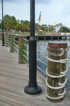 5 rope rail.