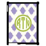 Monogrammed iPad Mini Case - Ikat