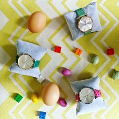 Happy Easter Chocolat Eggs ! Happy Easter, Eggs, Watches, Happy Easter Day, Wristwatches, Egg, Clocks, Egg As Food