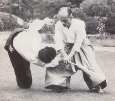 Aikido Doshu Ueshiba K. Sensei.