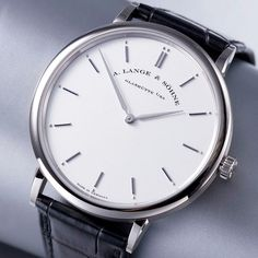 don't need no fancy grand a lange moon phase, just a sexy sohne saxonia would do