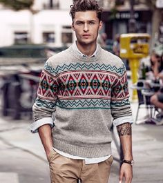 Pulovere Barbati Zara Si Jack And Jones Mans World, Men Sweater, Zara, Mens Fashion, Knitting, 21st Century, Sweaters, Jackets, Slip On