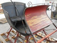 Horse Drawn Sleigh. Antique Cutter Sleigh by by StoreFourandMore, $ ...