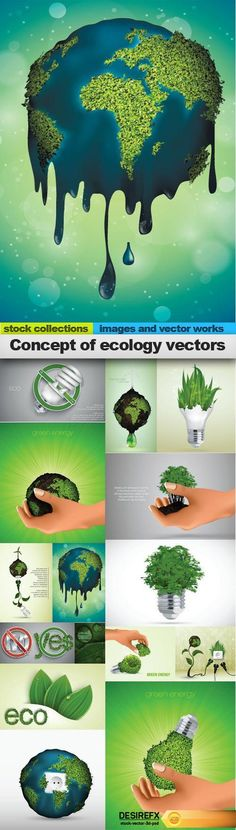 Find your Grapfix Desire With US http://www.desirefx.me/concept-of-ecology-vectors-15-x-eps/