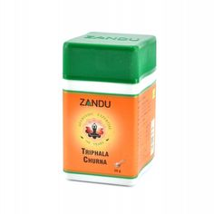 Zandu Triphala Churna - Useful in Dyspesia Chronic Diarrhoea Hiccough Colic Specially Beneficial in Eye diseases Internal Haemorrhage. Triphala combines nutritional as well as cleansing actions. It is an effective laxative which also supports body's strength.