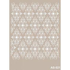 Royal diseño reutilizable Plantilla de A5 15x21 cm Artesanal Decoupage Scrapbooking plantilla