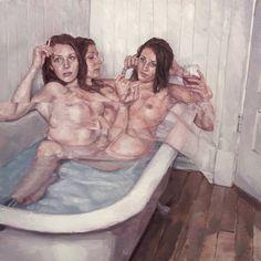Expressionist Blurred Oil Paintings – Fubiz Media