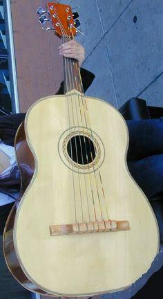Berkeley Guitarron (I do love a fat Guitarron even if its a poor photo) --- https://www.pinterest.com/lardyfatboy/