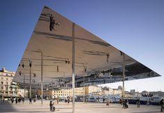 'Ombrière', diseñado por Norman Foster para su intervención en el Pabellón Vieux Port de Masella.