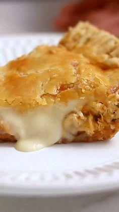 Chicken Pie recipe. I use the crust recipe - FAILED, dough very sticky and break into part even I fridge it