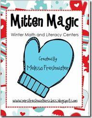 Mitten Magic (Math & literacy Activities)