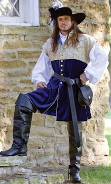 Ambassador's Jerkin: Renaissance Costumes, Medieval Clothing, Madrigal Costume: The Tudor Shoppe