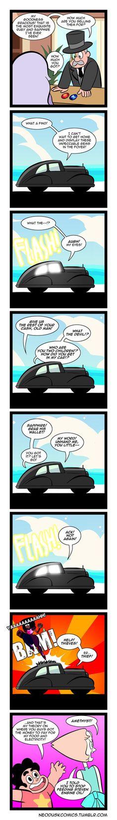 Steven Universe: Foe Gemstones by Neodusk on DeviantArt