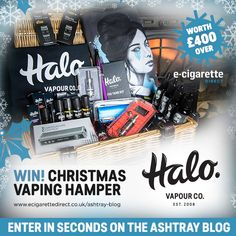#Giveaway: Win a Halo Xmas Vaping Hamper Worth £400