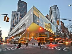 Alice Tully Hall @ Lincoln Center. - To visit in NY