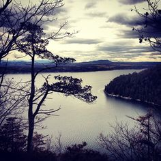 Don't let the name scare you -  a short, easy hike for families to snake den harbor with a view looking south on Lake Champlain. Trailhead at Split Rock - www.champlainareatrails.com