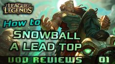 How to Snowball a Lead as a Toplaner (high elo VoD Review) https://youtu.be/7F-421EBZ0M #games #LeagueOfLegends #esports #lol #riot #Worlds #gaming