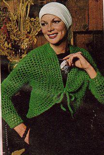 Crochet_shrug_small2 Vintage Knitting, Vintage Crochet, Crochet Hook Sizes, Crochet Hooks, Yarn Weight Chart, Crochet Poncho Patterns, Crochet Clothes, Crochet Sweaters, Crochet Designs