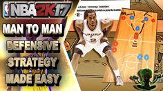 HOW TO PLAY MAN TO MAN DEFENSE | HELP & HELP THE HELPER - NBA 2K17 DEFEN...