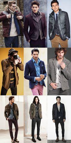 Men's Unconventional Layering Lookbook