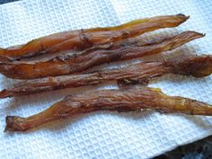 Chicken Jerky recipe - I could make this with rabbit meat instead.