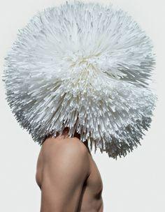 Masks photographed by Armin Morbach for Tush Magazine November 2012