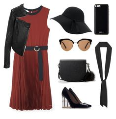 """""""romantic rock"""" by yourselffashion ❤ liked on Polyvore featuring MANGO, Linea Pelle, Zara and Gooey"""
