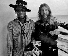 Jaimoe & Duane, Thunderbird Motel, Miami, Florida, 1970: Stephen Paley.