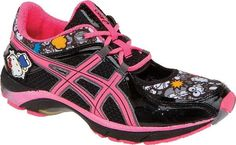 These Asics Hello Kitty Athletic Shoes are for the Young at Heart trendhunter.com