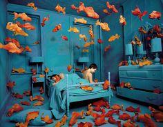 So könnte ich mir mein Zimmer auch vorstellen. Fehlen nur noch schöne #Poster oder #Leinwände von #myphotobook.