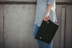briefcase :: dark grey  von marmollada auf DaWanda.com