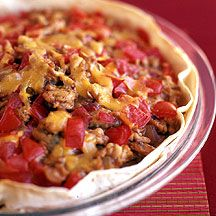Enchilada pie from Weight Watchers! 5 points plus!