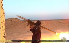 THE GUN. Have MANPADS provided to Syrian rebels found their way to Islamic State's fighters in Iraq? An Islamic State guide for downing American helicopters is silent on that, but a video suggests the escalating threat, and a missile's possible source. Sinai Peninsula, Keep The Peace, Bagdad, Palmyra, Military Helicopter, Rebel, Britain, American, World
