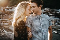 Oregon Coast Engagement Photos - Sara K Byrne