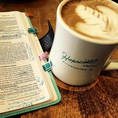 """""""I strive simply to just get lost. To just get lost in the word. So lost that I am never able to find my way back. But then again how great is being lost when that will no doubt be the way you are found? """" -Bloggin' with Becca --------- If there is a better way to start a day than with coffee and Jesus I haven't quite found it yet. So here's to my favorite drink and my favorite book. #coffeetime #coffee #coffeehouse #bible #biblejournaling #biblestudy #Christianity #christfollower…"""