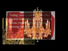 Crystal Chandeliers - Add Grandeur to Your Living Space.