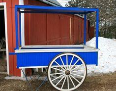 flower+carts+on+wheels | Squash Blossom Farm: Funky Little Flower Cart