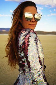 SHINE BRIGHT LIKE A DIAMOND Love Khaos women's holographic sequin tail coat @lovekhaosdesigns #burningman #mardigras #fancydress #streetstyle #festivalfashion
