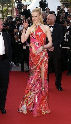 Pin for Later: 52 Cannes Gowns So Stunning, You'll Have to Remind Yourself to Breathe  Nicole Kidman wore a Pucci dress to the 2003 Cannes premiere of Dogville.