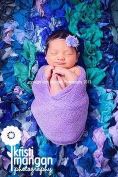 Inspiration For New Born Baby Photography : Sweet Baby K 1 week old Jupiter Newborn Photography Studio