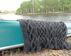 cable knit blanket pattern