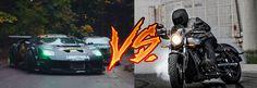La guerra histórica entre coches y motos, situaciones diarias que enfrentan a los usuarios de estos vehículos...