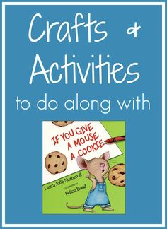 Toddler Approved!: If You Give a Mouse a Cooke Crafts and Activities