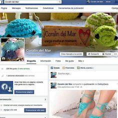 Te invito a seguirnos en facebook por la página Coralin del Mar, gracias! #coralindelmar #hechoenvenezuela #islademargarita #talentovenezolano #hechoamano #handmade #tejidos #artesanía #crochet #ganchillo #amigurumi #muñecotejido #animalestejidos #mini  #instawork #hazlotumismo #craftivism #liveslow #movimientoslow
