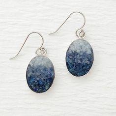 Mosaic Jewelry - Lapis, Sodalite and Angelite Mosaic Earrings