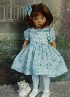 """**Suds 'N Me** Outfit for 13"""" Effner Little Darling Dolls"""