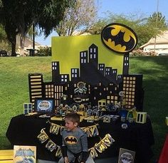 Batman Superhero Party Batman Party by PoppysmicBowtique on Etsy