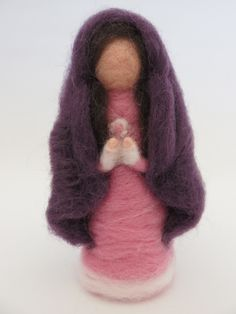 Presépio lã feltrada